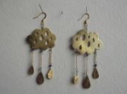 bijoux autres bijoux boucles d oreil nuage contemporain : intempérie