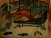 tableau scene de genre new york fiile penthouse : penhouse peace