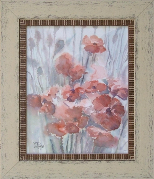 TABLEAU PEINTURE Fleurs Aquarelle  - Fleurs