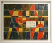 tableau abstrait : La partition