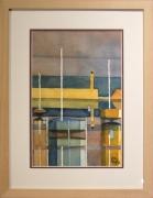tableau marine bateau mer port couleur : Binic 22
