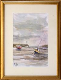 Marée basse à St Quay