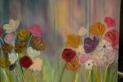 tableau fleurs fleurs jacheres champs : CHAMPS DE JACHERES