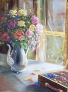 tableau : Bouquet d'artiste