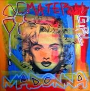 tableau personnages madonna streetart popart graffiti : MaDoNNa tableau pop street art graffiti