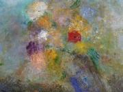 tableau fleurs peintureartfloral peinture de fleurs artcontemporain : Suranné