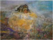 tableau paysages peinture symbolique landscapes paintings grand est peinture : Curiosité