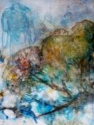 tableau autres peinture symbolique art informel art contemporain : Sauvetage