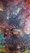 mixte autres abstractpainting grandestpainting arbrespeintures : Nature mystifiée