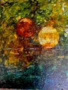 tableau paysages ecologiquepeinture abstractecology : Envol écologique