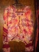 autres autres laine : Veste tricotée à capuche
