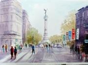 tableau architecture bordeaux monument colonne girondins : Monument des Girondins