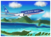 tableau autres : B787 AIR TAHITI NUI