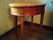 bois marqueterie autres : Table Louis XVI