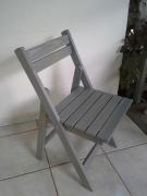 bois marqueterie autres : Chaise terrasse