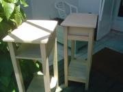 bois marqueterie autres mobilier accueil bois reunion : Mobilier d'appoint