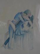 tableau personnages passion amour couple : passion