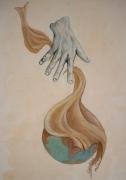 tableau autres monde dieu main creation : La honte du créateur