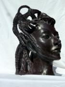 sculpture personnages : Chimère