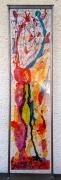 sculpture abstrait design vitrail couleurs quotidien : Le clown céleste