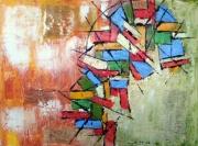 tableau abstrait : Ouverture