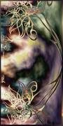 tableau abstrait tableau artistique l : Surreal Collection Lace flowers