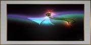 tableau abstrait tableau artistique ,a : Surreal Collection - Astral Comet
