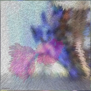 tableau abstrait tableau artistique ,c : Crystals Collection Crystal light