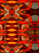 art numerique abstrait : chinèse