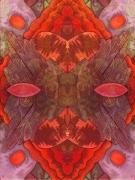 art numerique abstrait : rougecoeur