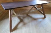"""deco design autres bureau bois meuble design : Bureau sur tréteau """"gauche"""""""