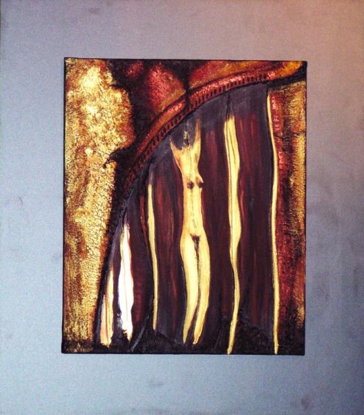 TABLEAU PEINTURE art acrylique abstrait moderne Abstrait  - philifemme