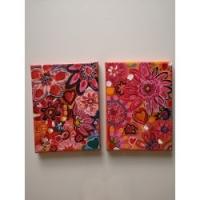 Duo fleurs fantaisies VENDU