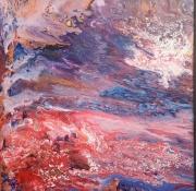 tableau abstrait toile abstraite methode appliquee du mouvance abstrait sur toile : Mouvance