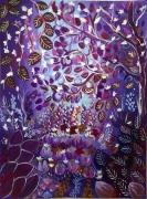 dessin paysages canson encadre moulin du roy paysa jardin merveilleux oeuvre magique : Jardin imaginaire