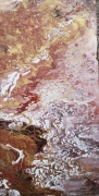 tableau abstrait landscape arizona toile abstraite marron : Landscape ARIZONA