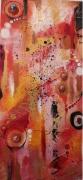 tableau abstrait inclusions billes et abstrait imagine par mes soin art abstrait : Jeux d'enfants