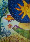 dessin personnages : La prophétie du soleil
