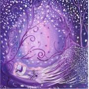 tableau personnages elfe toile feerique univers magique les toiles dysis : Souffle d'étoiles