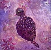 tableau : petit oiseau tendre