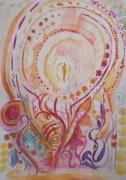 dessin autres aquarelle intuitive imaginaire realisation rapide crayon papier enca : Aquarelle intuitive 2