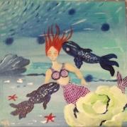 tableau personnages : La petite sirène