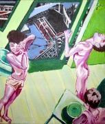 tableau scene de genre corps interieur imaginaire nu : passé présent futur