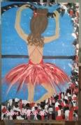 tableau personnages danseuse tutu classique : Maëlys
