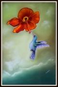 tableau animaux colibri : LE  COLIBRI