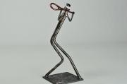 sculpture sport sculpture metal sport tenis : Tennisman