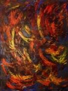 tableau abstrait : Rupture