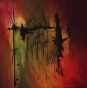 tableau abstrait : Mystique