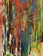 tableau abstrait : Cascades
