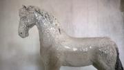 sculpture animaux charente maritime la rochellel 1terrefer sculpture raku : cheval